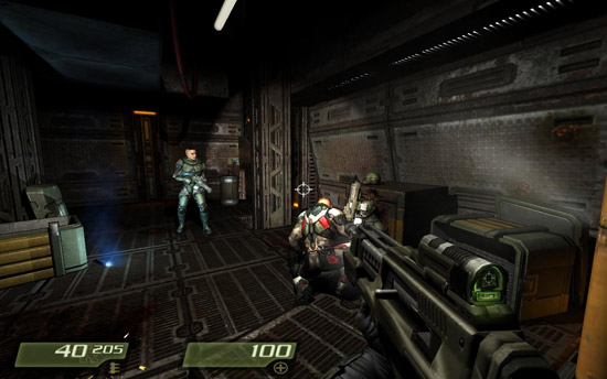 quake 4 on macbook pro 13""