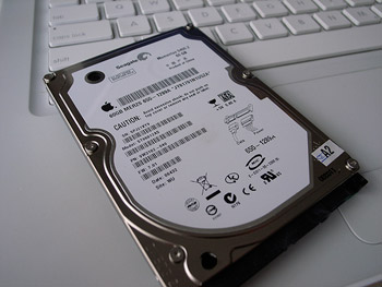 macbook hdd
