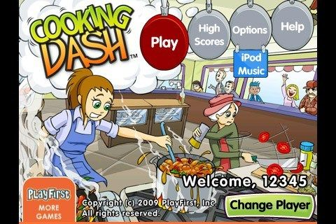 Cooking Dash: стряпчие заботы