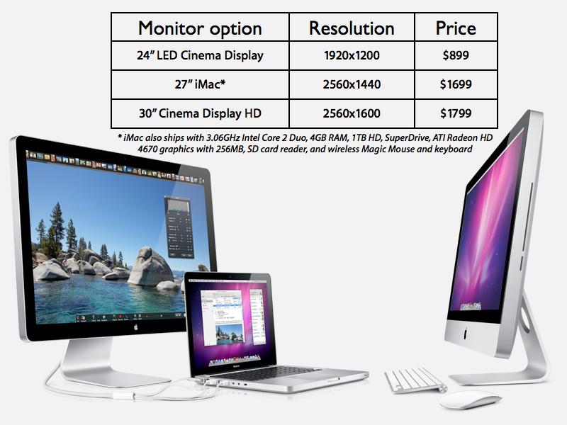 "Apple's 27"" iMac"