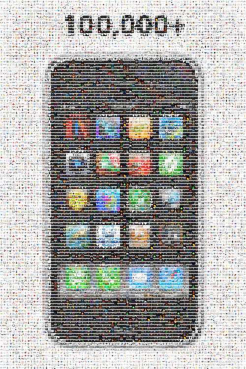 100000 iphone apps