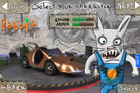 Horror Racing game for iPhones