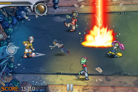 Pro Zombie Soccer для iPhone и iPod Touch