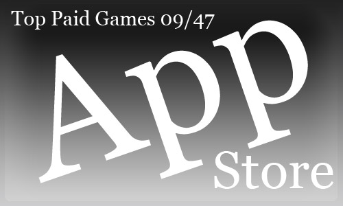 top 10 paid games для iPhone и iPod Touch