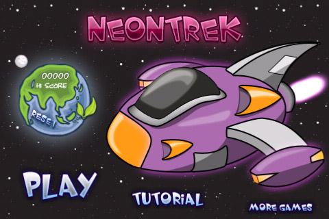 Neon Trek: цветной лабиринт