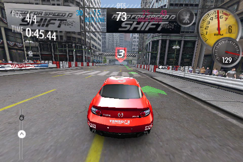 Need for Speed Shift – игра для iPhone и iPod Touch
