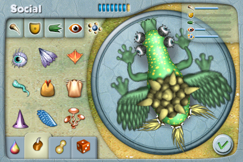 Spore Creatures iPhone