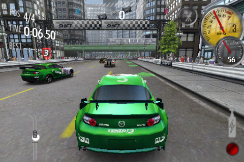 need for speed shift для iPhone и iPod Touch