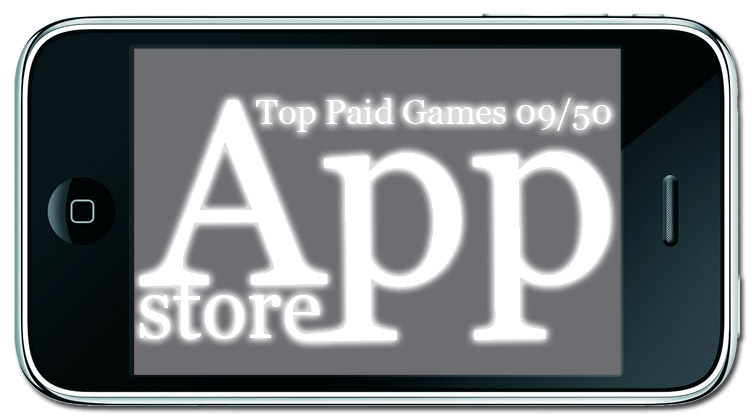 top 10 paid games из App Store для iPhone и iPod Touch