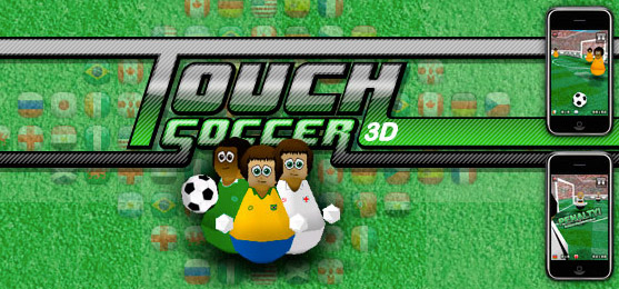 touch soccer 3d для iphone и ipod touch