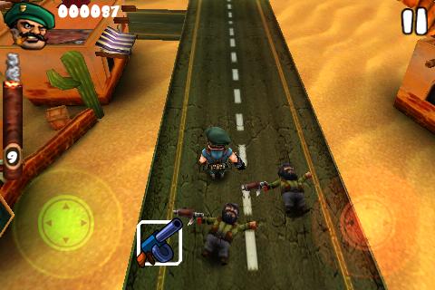 Guerrilla Bob – игра для iPhone и iPod Touch