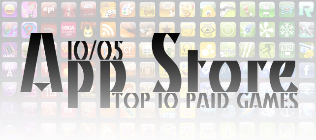 TOP 10 Paid Games. Неделя №5