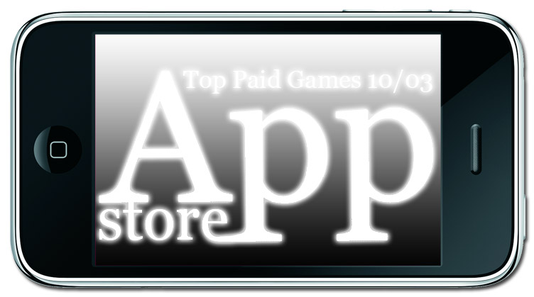 TOP 10 Paid Games. Неделя №3