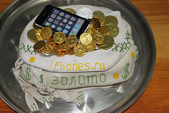 торт денежный фото