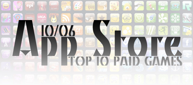 TOP 10 Paid Games. Неделя №6