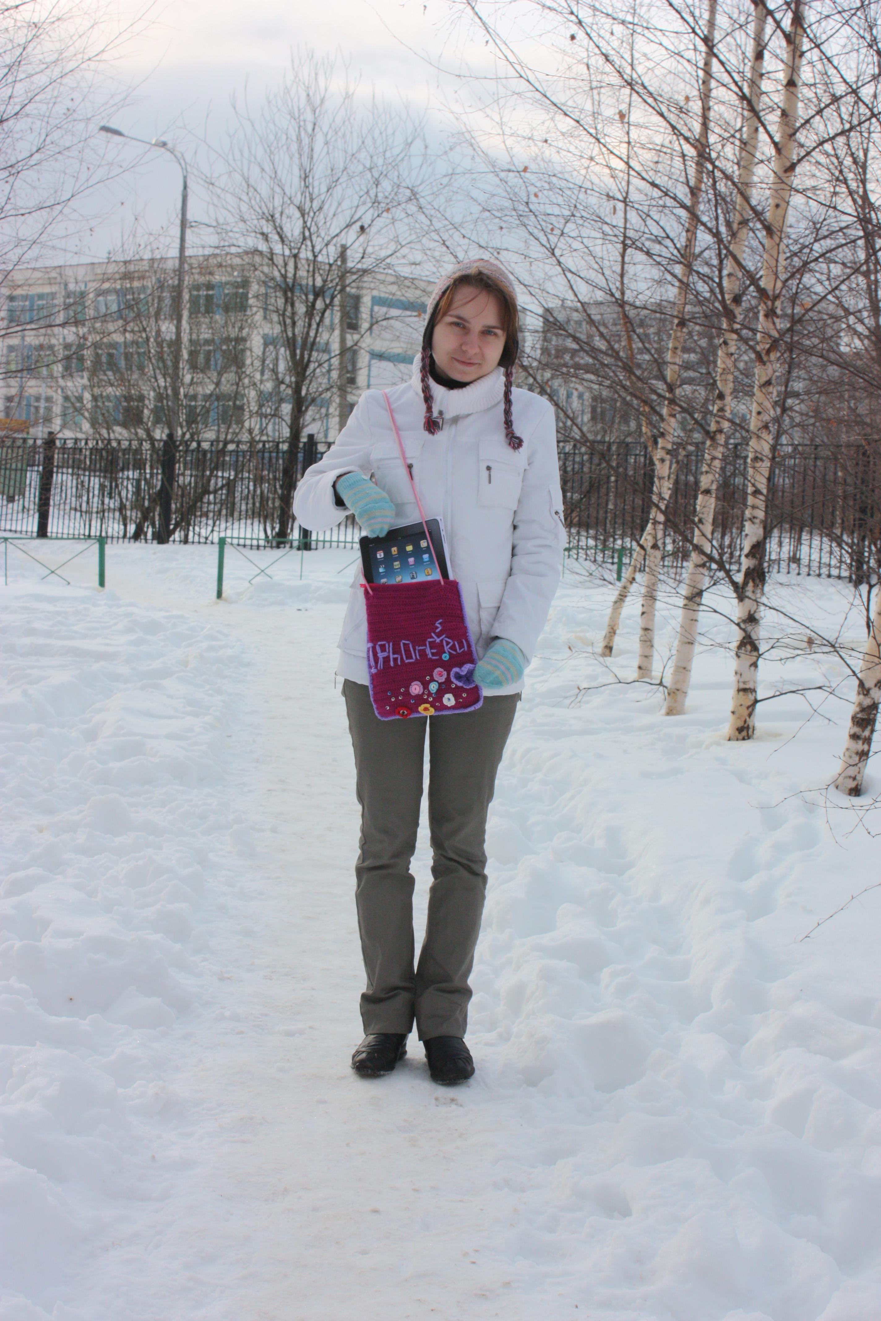 Татьяна Сергеева: сумочка для iPad