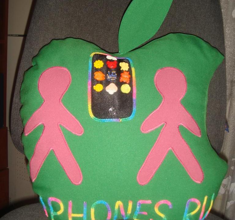 Елена: яблочная подушка