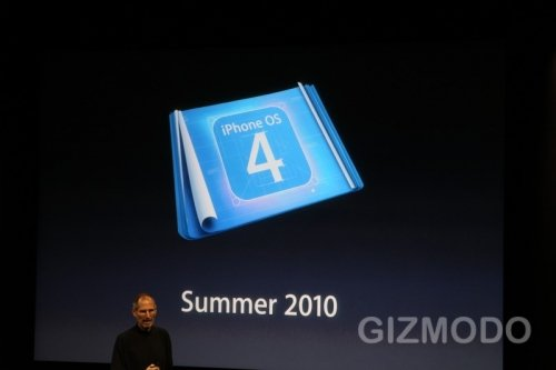 iPhone OS 4.0 в действии