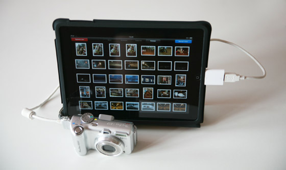 Обзор Apple iPad Camera Connection Kit