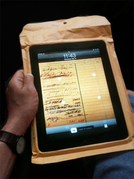 Камуфляжный аксессуар для iPad