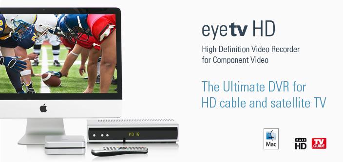 eyeTV HD – телевидение становится доступным
