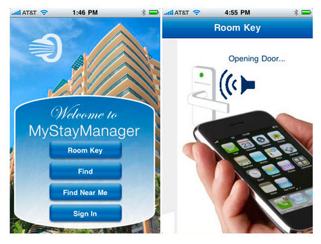 Открыть дверь в отеле с помощью iPhone? Легко!