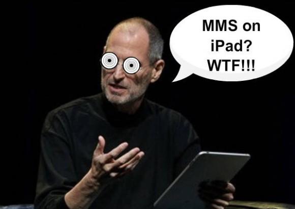 iPad 3G сможет отсылать MMS