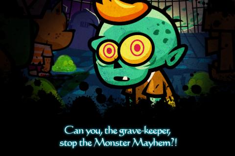 Monster Mayhem – первоклассная зомбидробилка