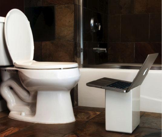 iPoop – док для… ванной комнаты