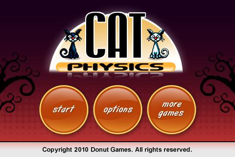 Cat Physics – свежие пончики, теперь про кошек