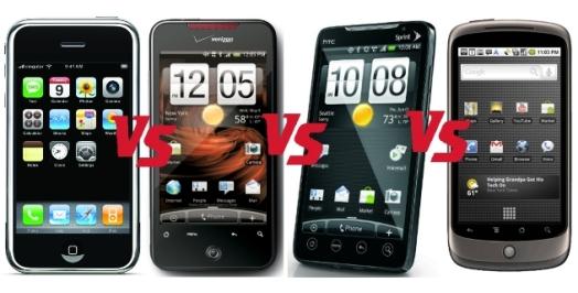 Сравнение iPhone 4 и конкурентов