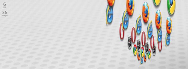 IE 9 против Safari 5. Организатор боя – Microsoft.