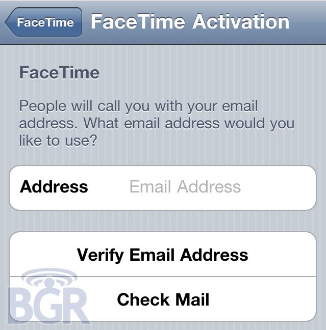 FaceTime вне iPhone