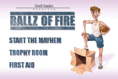 Ballz of Fire: сорванец с мячом