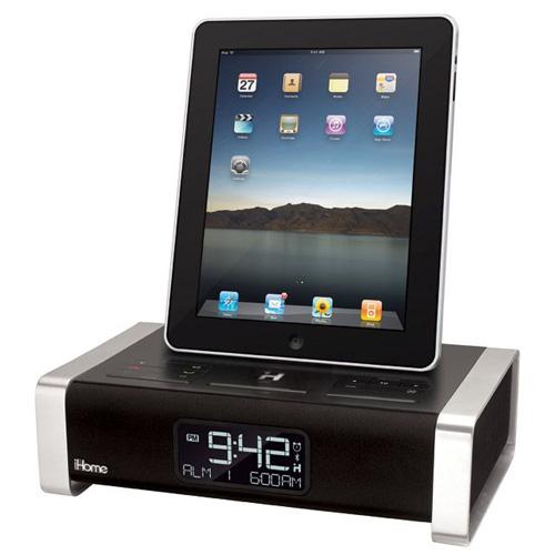 iHome — док для iPad с будильником