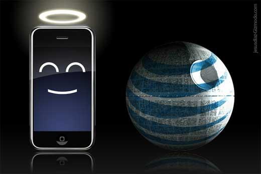 AT&T «не виноваты» в низкой скорости отдачи iPhone 4