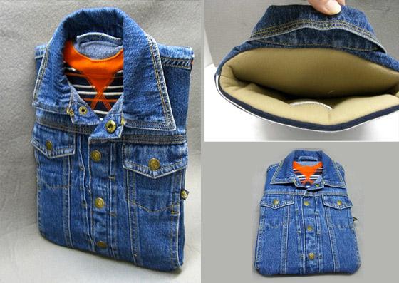 Джинсовая рубашка для iPad