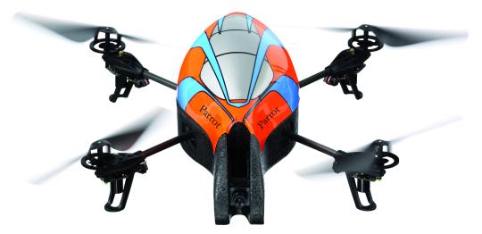 AR.Drone – игрушка для больших мальчиков