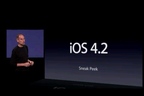 Новые возможности в iOS 4.2 beta