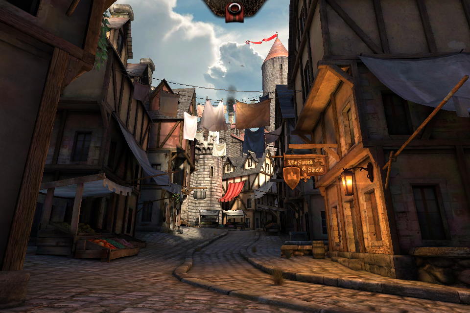 Epic Citadel –демо версия Project Sword