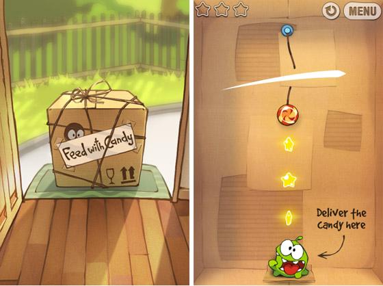 Cut the Rope. Игра №1 в App Store от российских разработчиков