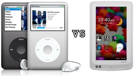Cowon предложила интересную альтернативу давно не обновлявшемуся iPod classic