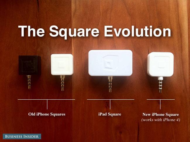 Square начала продажи считывателей кредитных карточек для всех iOS-гаджетов