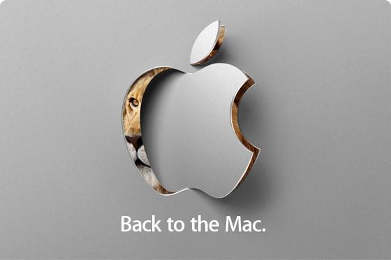Конференция Apple «Back to the Mac» — 20 октября!