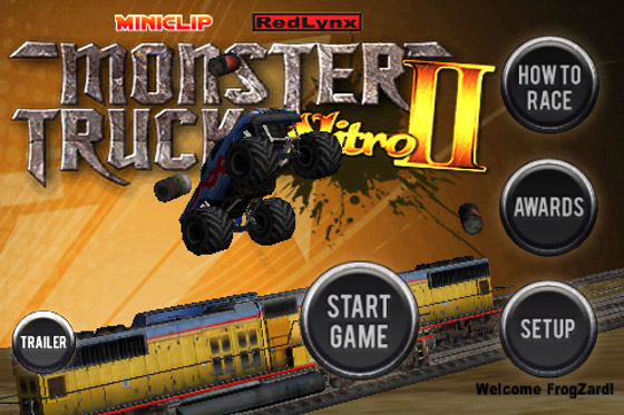 Monster Trucks Nitro 2: elastomania с бигфутами