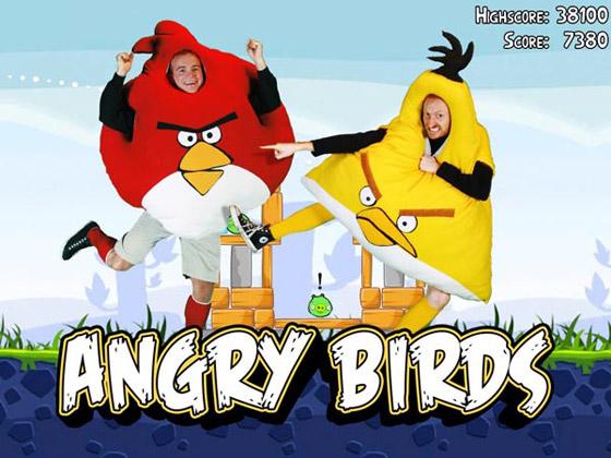 Международный день Angry Birds в Москве