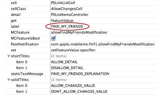 В будущих версиях iOS появится функция «Find My Friends»