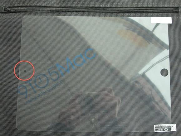 Производитель пленок для iPad 2 подтверждает наличие фронтальной камеры и еще одной изюминки