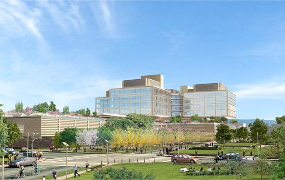 Apple поможет Медицинскому Центру Стэнфорда построить новый госпиталь