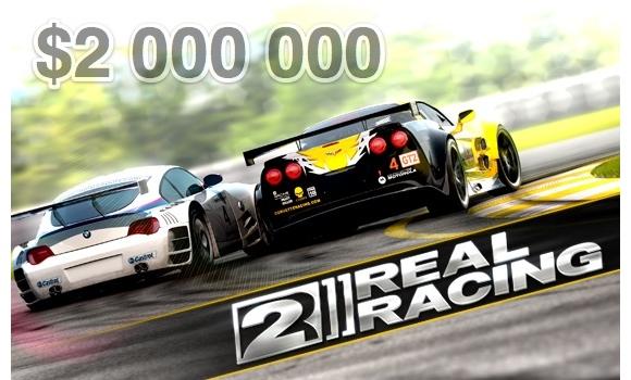 Создание Real Racing 2 обошлось в $2 млн, а что будет дальше?